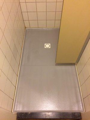 Een polyester vloer in de badkamer? Dynamic Polyester Center