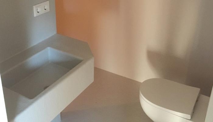 Polyester badkamer op maat