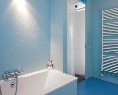 badkamer op maat van polyester