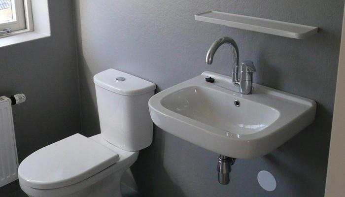 badkamerwand van polyester