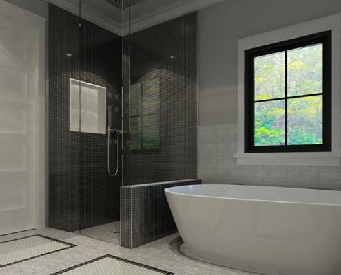 polyester-badkamervloer