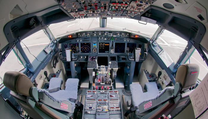 polyester cockpit simulator