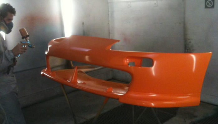 tuning polyester bumper