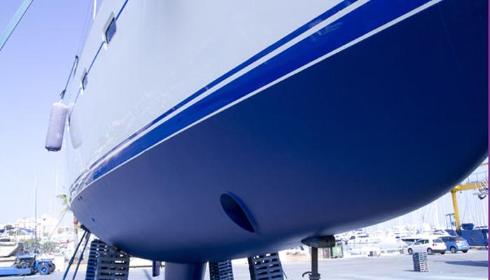 polyester zeilboot antifouling